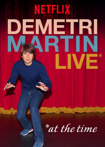 Demetri Martin: Live (At the Time) on Netflix Canada