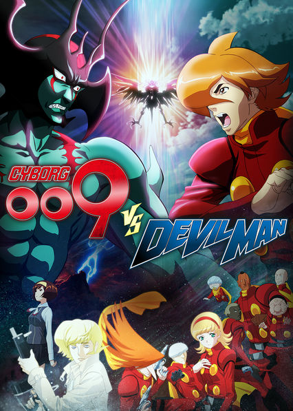 Cyborg 009 VS Devilman on Netflix Canada