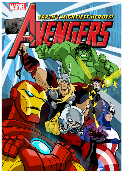 The Avengers: Earth's Mightiest Heroes on Netflix Canada
