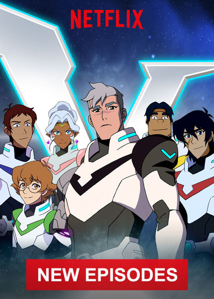 Voltron: Legendary Defender on Netflix Canada