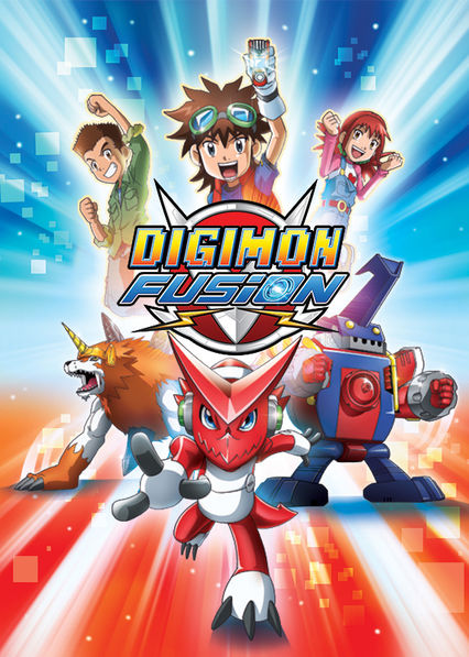 Digimon Fusion on Netflix Canada