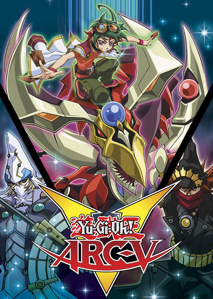 is yu gi oh arc v available to watch on canadian netflix new