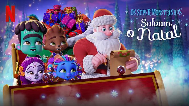 Os Super Monstrinhos Salvam o Natal