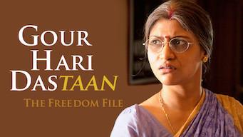 Gour Hari Dastaan: The Freedom File (2015)
