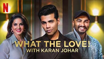 What the Love! with Karan Johar (2020)