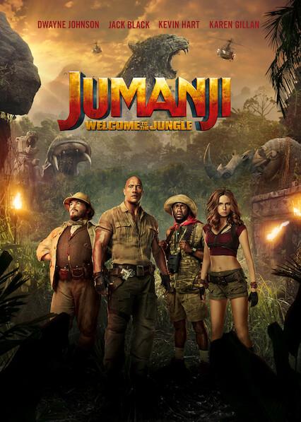 Jumanji: Welcome to the Jungle on Netflix Canada