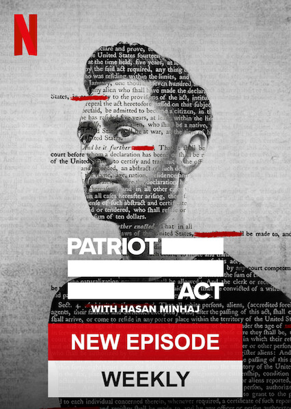Patriot Act with Hasan Minhaj on Netflix Canada