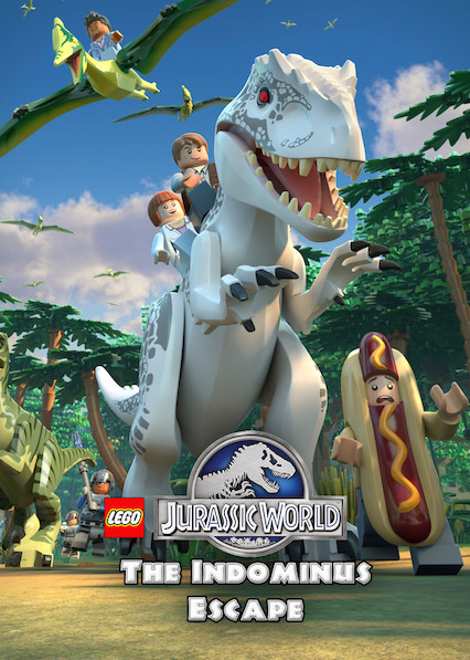 LEGO Jurassic World: The Indominus Escape on Netflix Canada