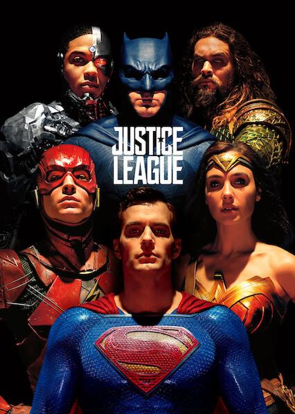 Justice League on Netflix Canada