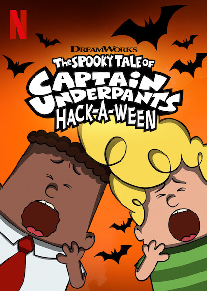 The Spooky Tale of Captain Underpants Hack-a-ween on Netflix Canada