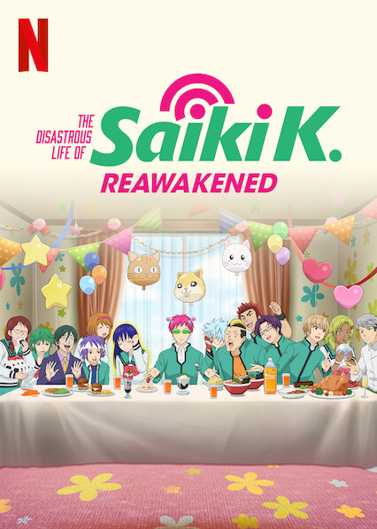 The Disastrous Life of Saiki K.: Reawakened on Netflix Canada