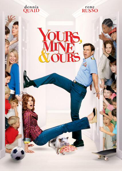 Yours, Mine and Ours on Netflix Canada