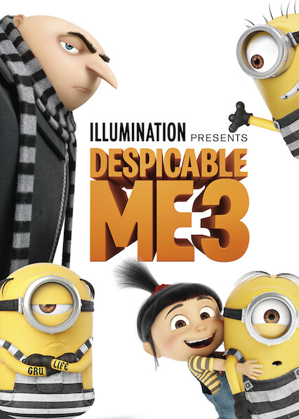 Despicable Me 3 on Netflix Canada
