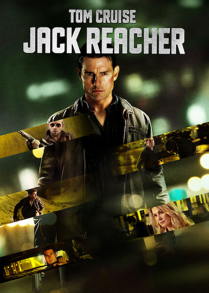 Jack Reacher on Netflix Canada