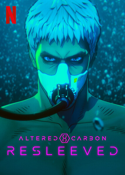 Altered Carbon: Resleeved on Netflix Canada